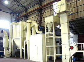 Tricyclic medium-speed micro powder mill