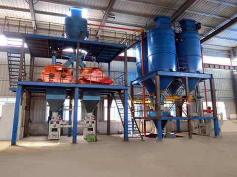 200,000 T/Y Ready mixed mortar production line