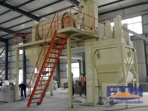 500,000 T/Y Ready-mixed mortar production line