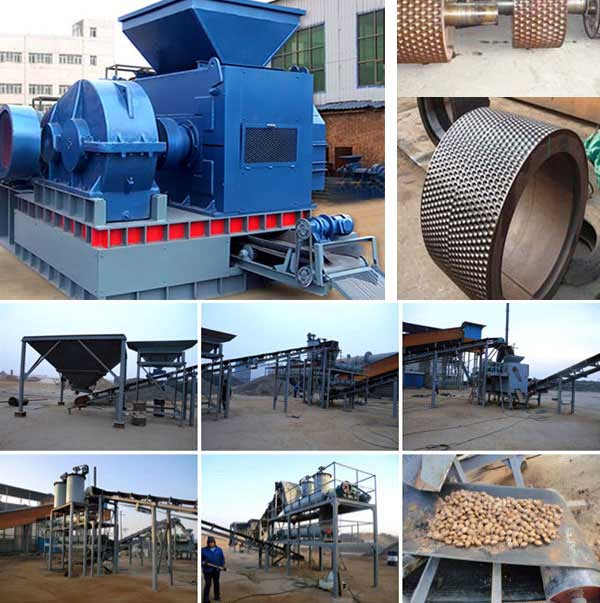 Ore Powder Briquette Machine