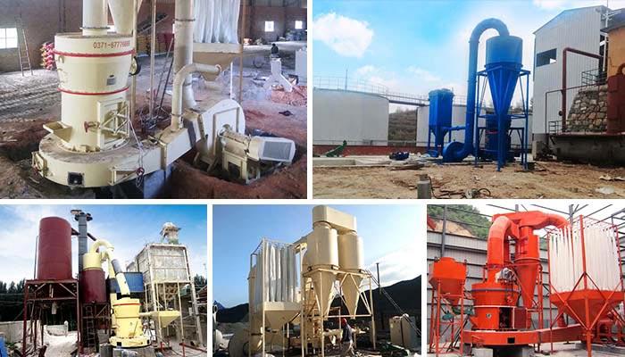 Meet Grinding Plant : Raymond mill grinding plant