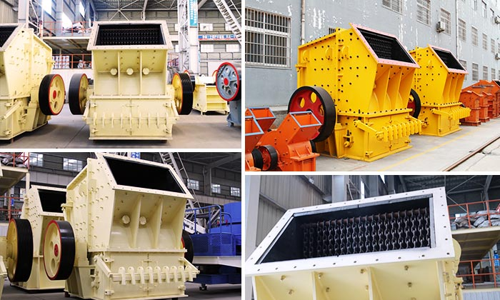 Single Stage Crusher Processing material