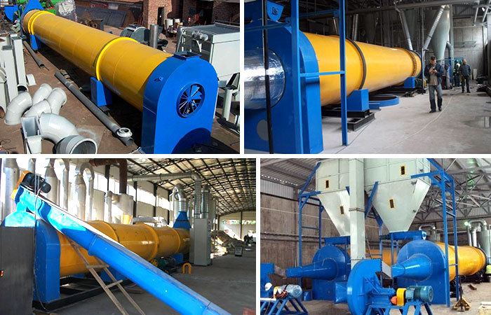 Sawdust dryer Production site