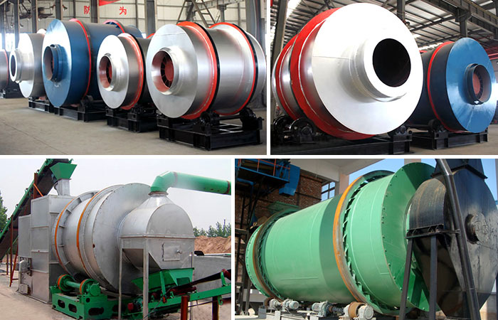 River sand dryer machine Production site